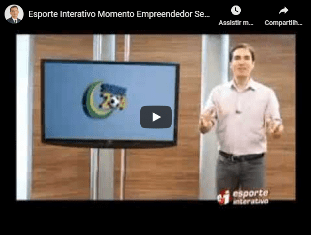 Entrevista Sérgio Carvalho/5àsec ao canal Esporte Interativo Momento Empreendedor SEBRAE, falando sobre franquias
